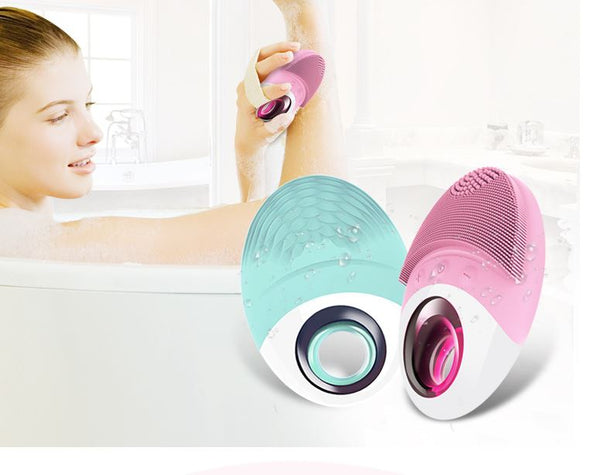 Wireless Charging Silicone Cleansing Instrument Health & Beauty, Hair / Beauty Tools / Electric Face Cleanser - shop in usa - canada - UK - Spain - France - Germany - Netherlands - Sweden -