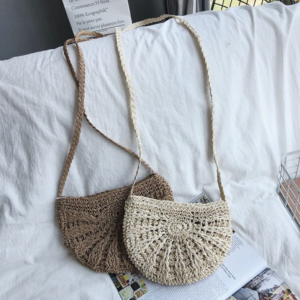 Women Tassel Knitting Straw Bag Bag & Shoes / Women's Luggage & Bags / Fashion Backpacks - shop in usa - canada - UK - Spain - France - Germany - Netherlands - Sweden -