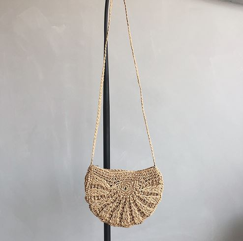 Women Tassel Knitting Straw Bag Bag & Shoes / Women's Luggage & Bags / Fashion Backpacks - shop in usa - canada - UK - Spain - France - Germany - Netherlands - Sweden - Khaki