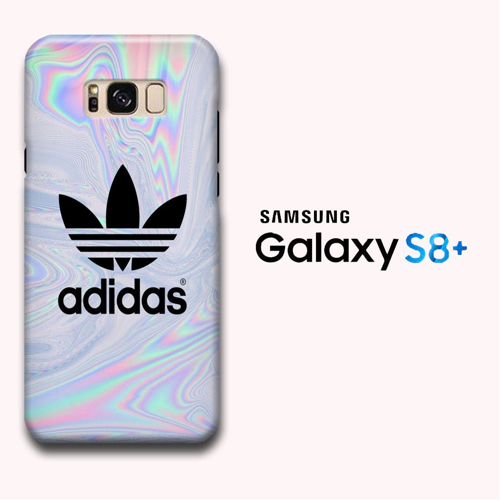 best cheap 7e66b dcf5e Adidas Marble Rainbow Samsung Galaxy S8 Plus 3D Case