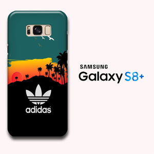new product 74ec2 23155 Adidas Sunset On Hill Samsung Galaxy S8 Plus 3D Case