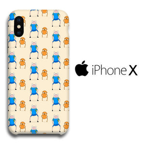 Adventure Time Background Iphone X 3d Case