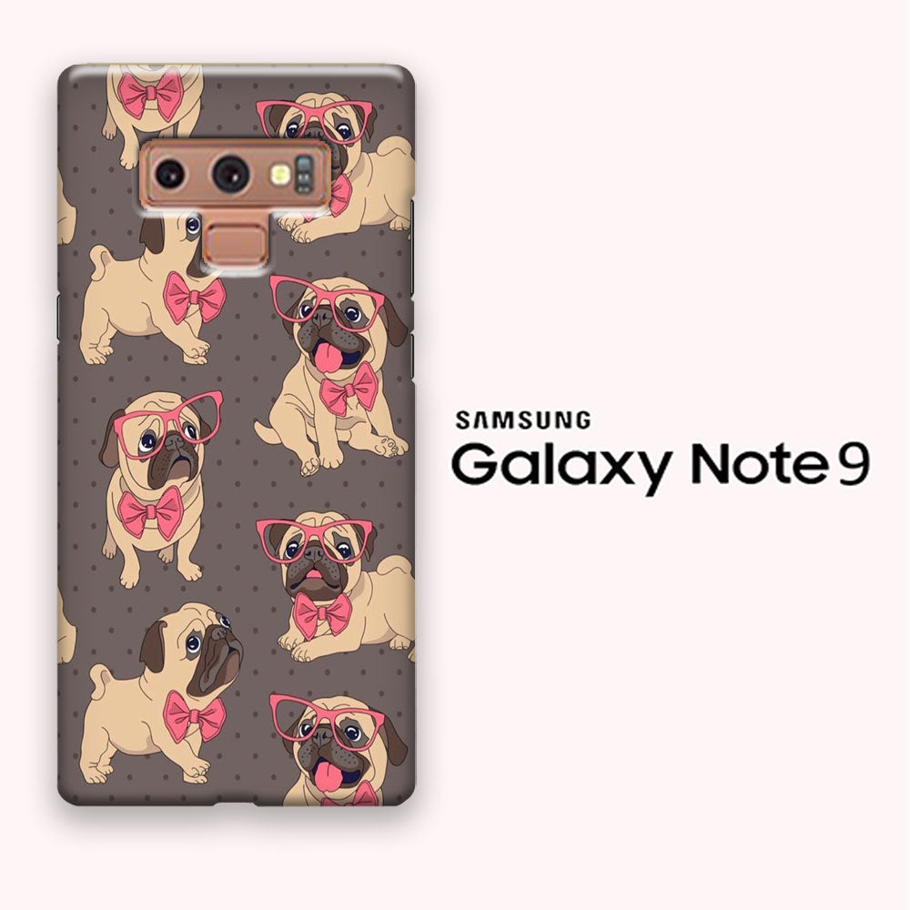 Cute Bulldog Wallpaper Samsung Galaxy Note 9 3d Case Myltastore