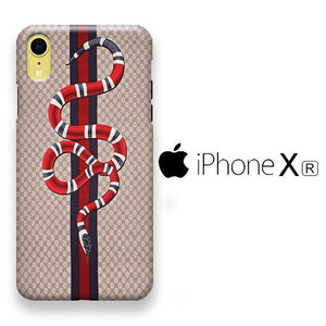 Gucci Snake Brown iPhone XR 3D Case