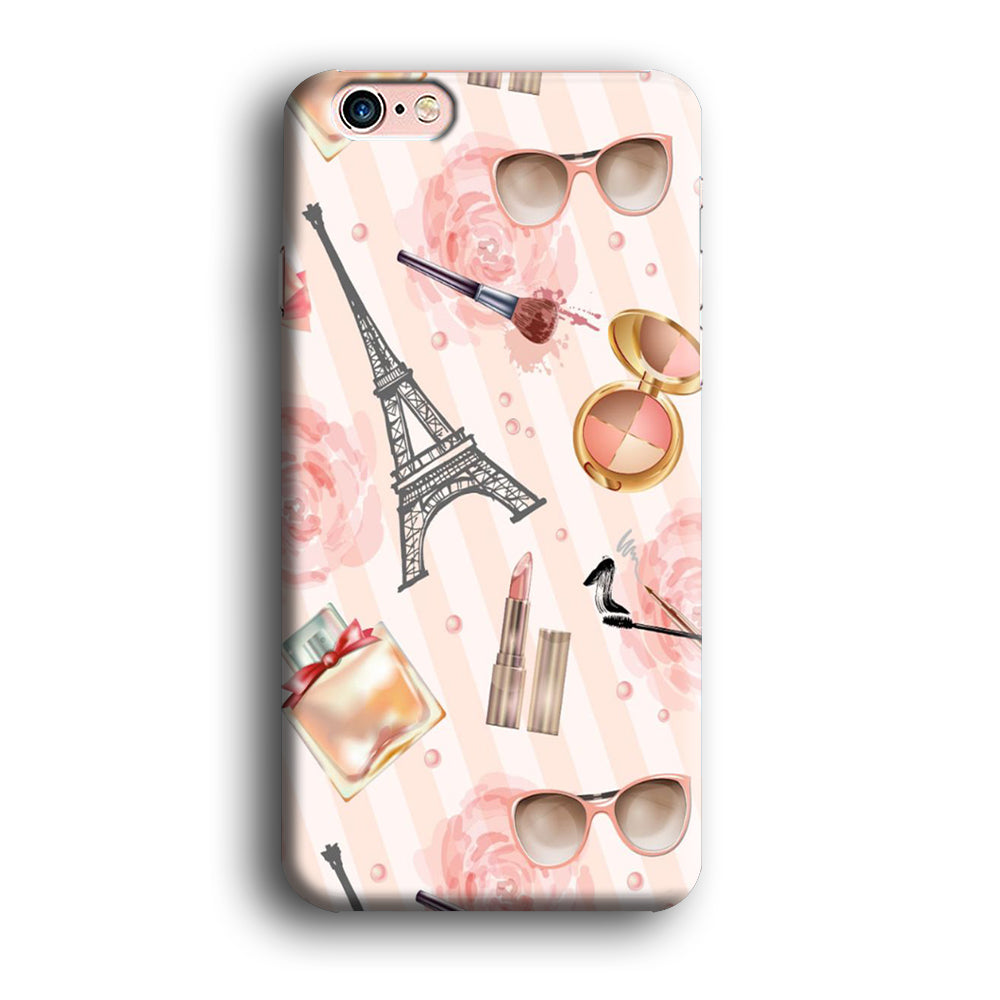 Paris And Sun Glass Wallpaper Iphone 6 6 Plus 3d Case Myltastore