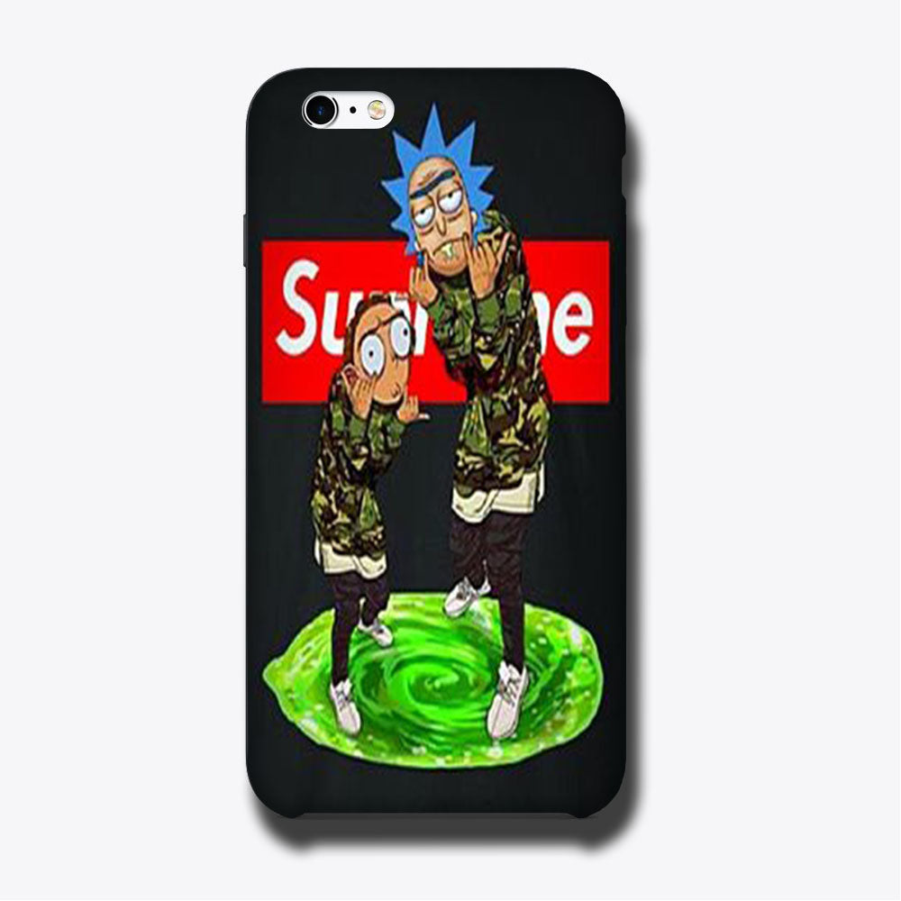 Rick And Morty Supreme Wallpaper Iphone 6 6 Plus 3d Case