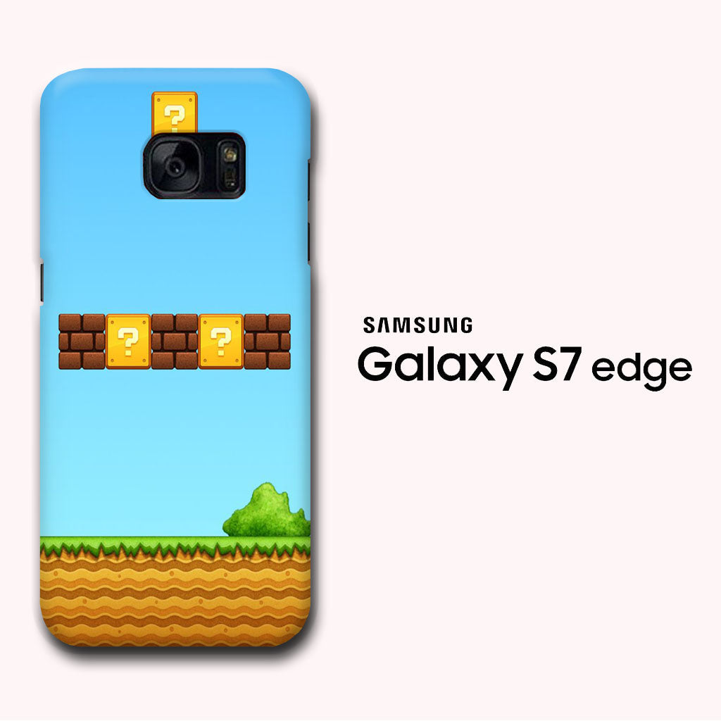 Super Mario Wallpaper 3 Samsung Galaxy S7 Edge 3d Case Myltastore