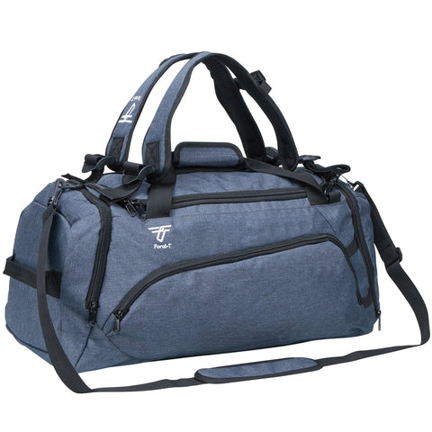 Foral-T Navy Blue - Gym Bag/ Convertible