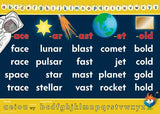 0130P | Word Walls - A3 Space poster set