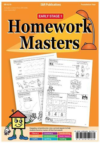 Homework Masters - Foundation / Early Stage 1