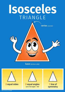 0265P | Simple Maths Triangle posters