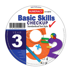 CD: Basic Skills Checkup, Numeracy - Year 3