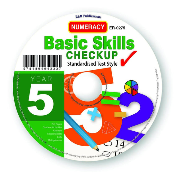 CD: Basic Skills Checkup, Numeracy - Year 5