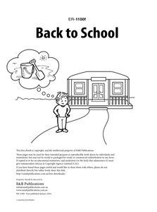 1100f | Back to School worksheets - free EBOOK