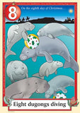 Australian Christmas endangered dugongs