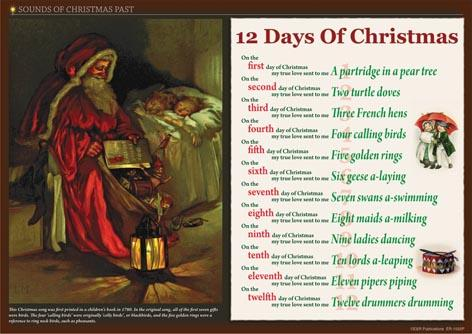 Sounds Of Christmas Past, digital posters
