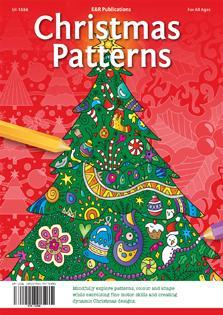Classic Christmas Patterns Outlines