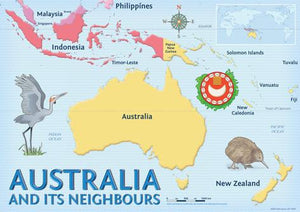 1904P | Australia And Its Neighbours Posters, Year 3