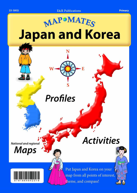 1915 | Japan and Korea Mapmates