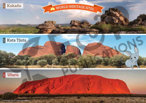 2760P | Australian World Heritage Sites poster set