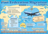Migration to Australia poster, post Federation 2000–