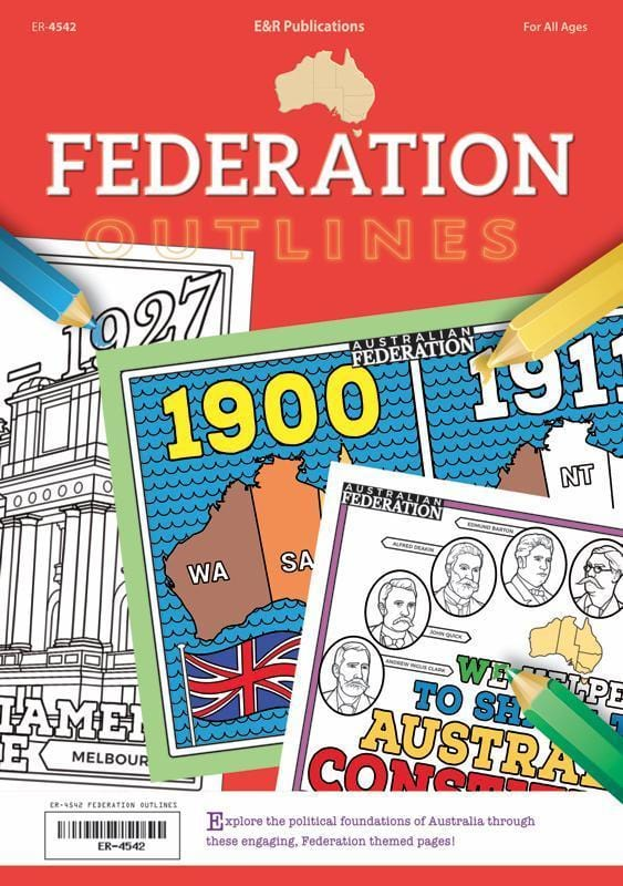Australia's Federation Outlines, Year 6