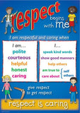 4605P | Respect, Responsibility, Rights Poster set
