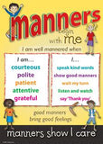 Manners poster set2