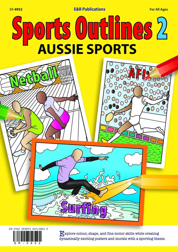 Sports Outlines 2 eBook