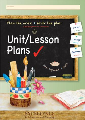 Lesson Planning Book