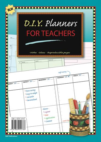 DIY Teacher's Planner Printables EBOOK