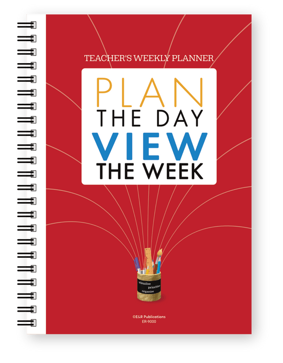 Teacher's Weekly Undated Planner
