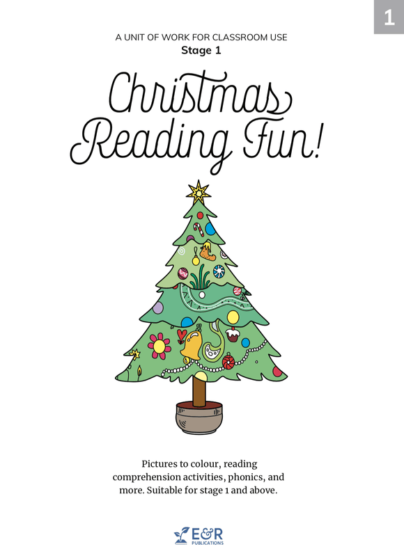 1560U | Christmas Reading Fun unit of work – Stage 1 EBOOK
