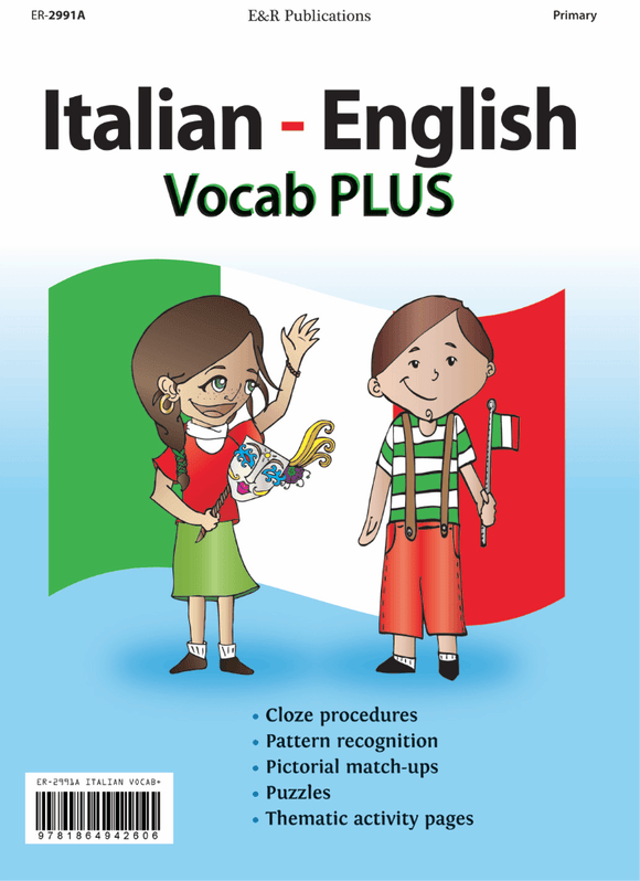 2991A | Italian–English Vocab Plus