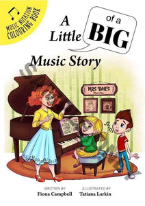 A Little (Of A Big) Music Story (From $10 Each) Non-Reproducible Book