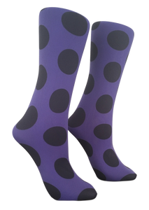 Soxtrot Knee High - Big Dot Periwinkle