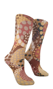 Soxtrot Kids Knee High - Cappucino