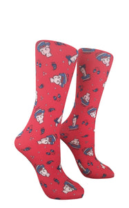 Soxtrot Kids Knee High - Cool Bears