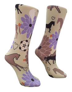 Soxtrot Knee High - Daisy Horses