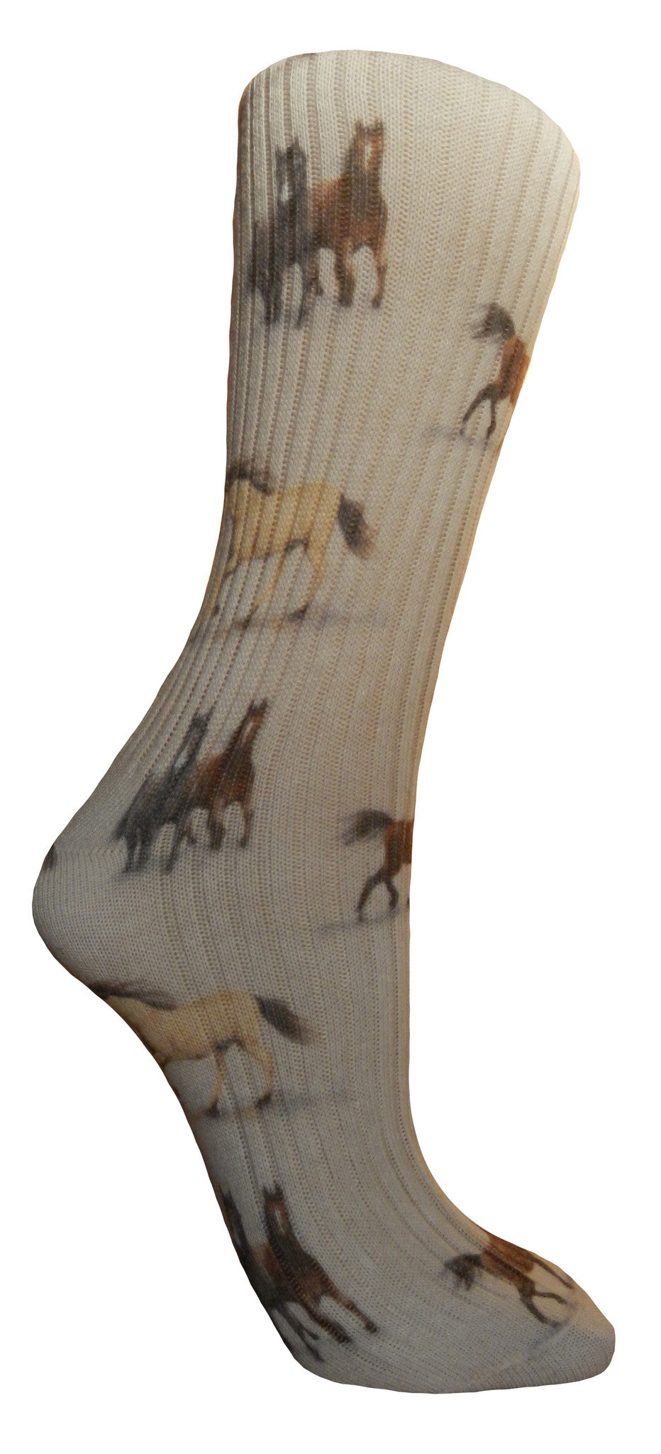 Soxtrot Cotton Sox - Horse Country