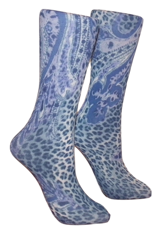 Soxtrot Knee High - Jungle Paisley