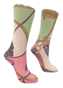 Soxtrot Knee High - Luxury Tack
