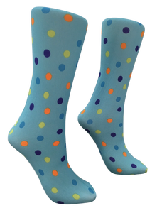 Soxtrot Knee High - Push Pin Dot