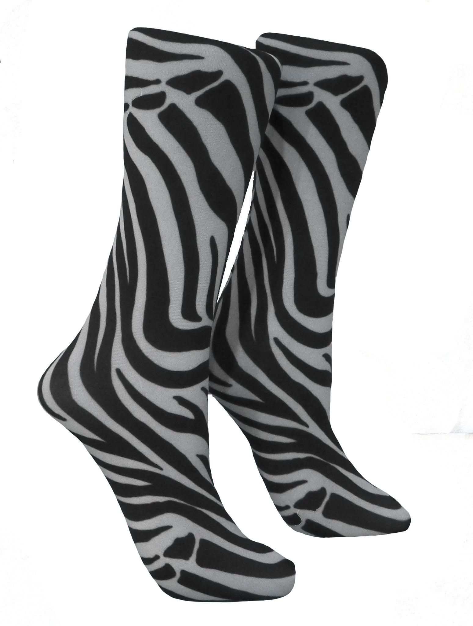 Soxtrot Knee High - Bengal Tiger White