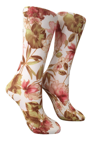 Soxtrot Knee High - Lily Of The Incas