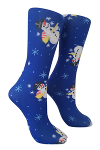 Soxtrot Kids Knee High - Snowman