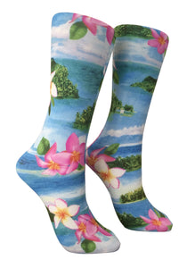 Soxtrot Knee High - Ultra Island