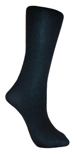 Soxtrot Knee High Solid - Black