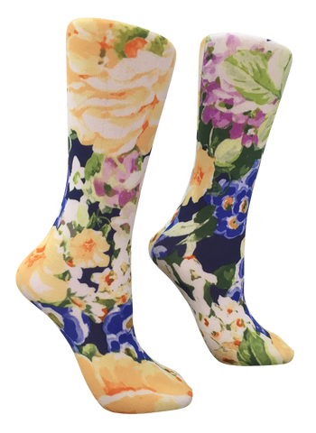 Soxtrot Knee High - Sunshine Garden