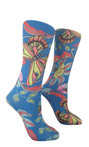 Soxtrot Kids Knee High - Summer Breeze